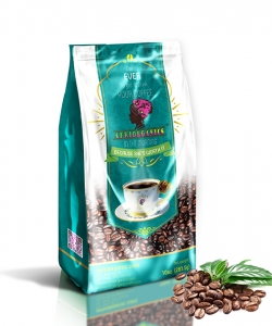 Tanzania Blue Bourbon Organic Coffee, 12oz